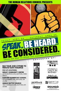 Speak Wknd Flyer BACK