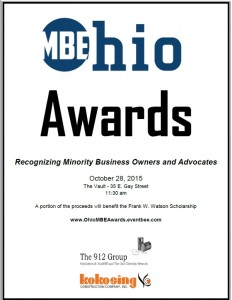 ohio mbe awards