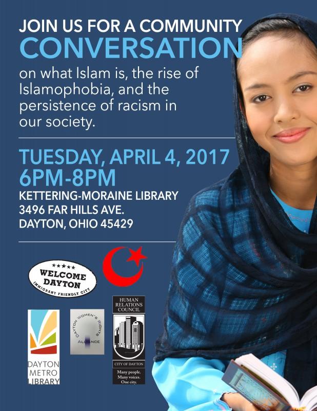 Islamophobia and Racism Flyer April 4 2017