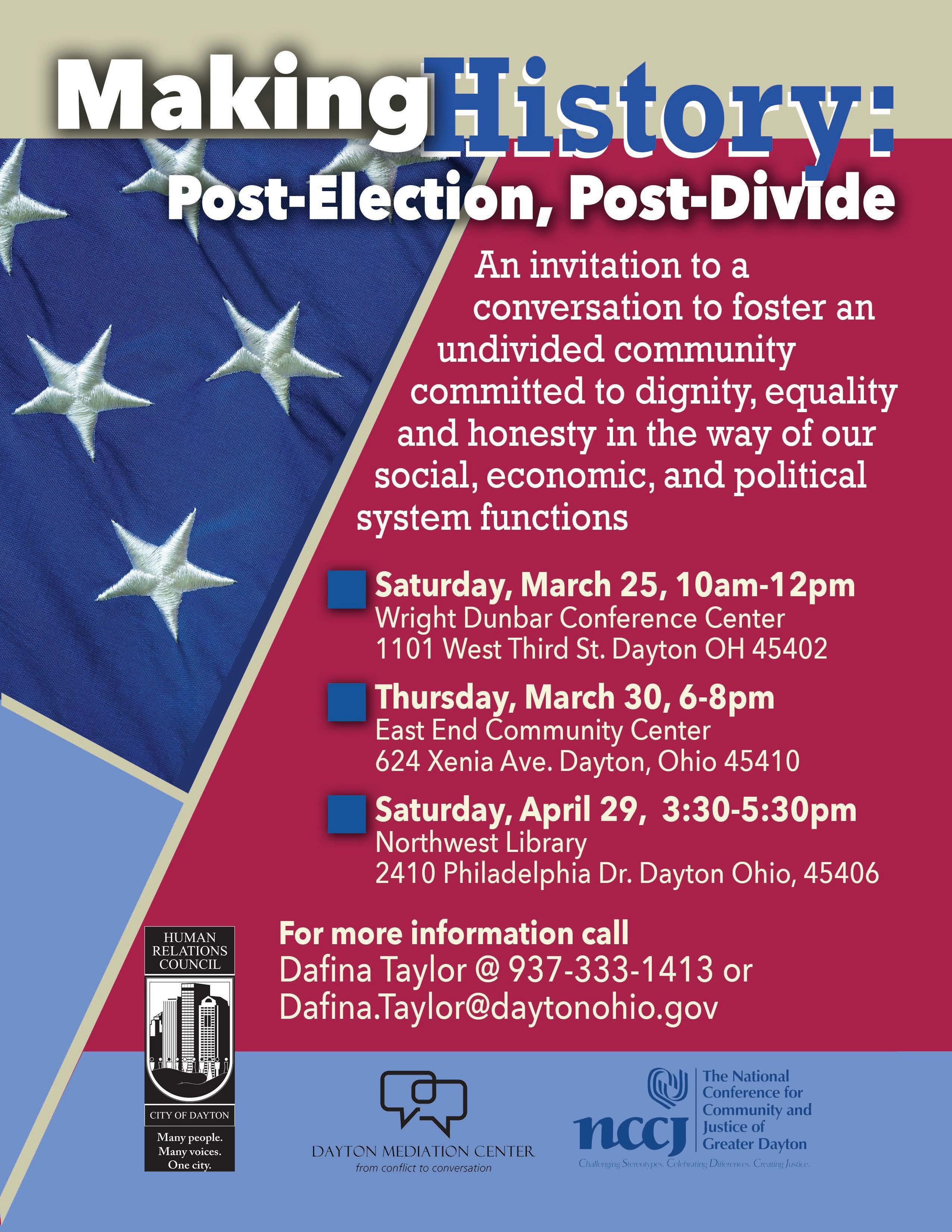making history post election post divide dayton hrc